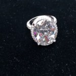 Porsha Williams' 13 Carat Round Cut Diamond Ring