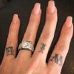 Sabina Kelley's Cushion Cut Diamond Ring