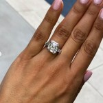 Alexandra Pakzad's Asscher Cut Diamond Ring