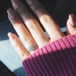 Antoinette Nicole Aquino's Round Cut Diamond Ring