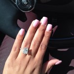 Miranda Brooke's Emerald Cut Diamond Ring