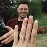 Simone Nortman's Emerald Cut Diamond Ring