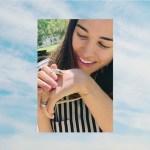 Moriah Peters' Round Cut Diamond Ring