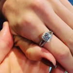 Kirstie Brittain's Cushion Cut Diamond Ring