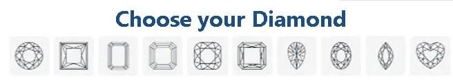 Choose your diamond webpage