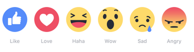 FB Reactions