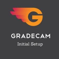 gradecam initial setup