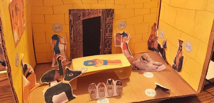 creating a livescribe smartpen diorama