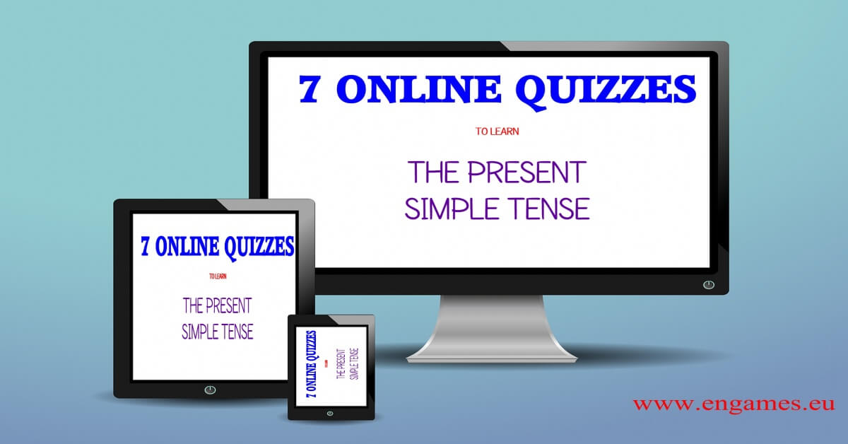 Online Quizzes to Practise Present Simple  Games to learn English  Games to learn English