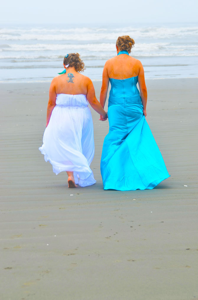 Wa Same Sex Wedding Officiant Weddings By The Sea