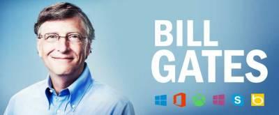 Bill Gates, co-founder of Microsoft