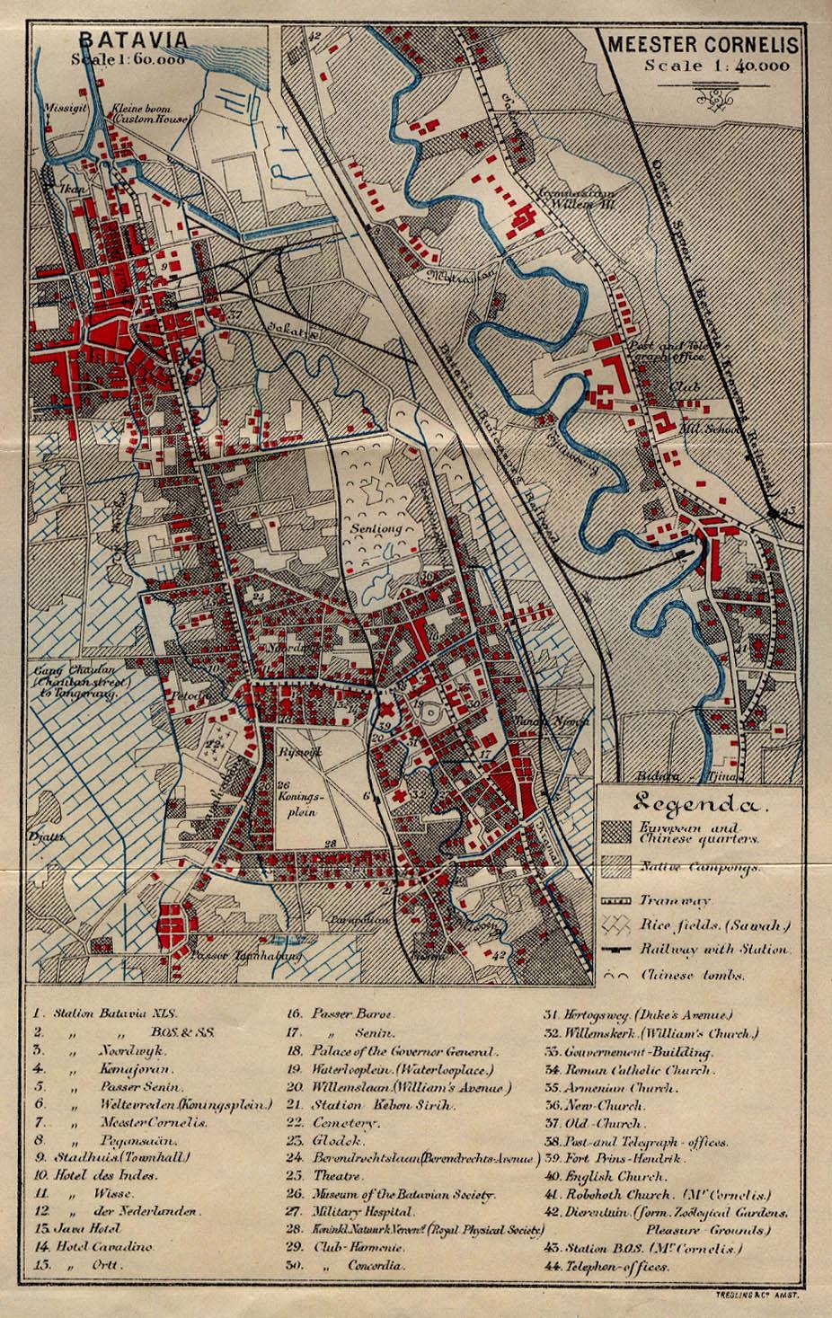 Batavia in 1897