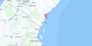 Kartenausschnitt Malindi City