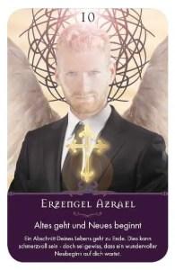Gratis Kartenlegen Kraft der Engel Orakel Karte 10 Erzengel Azrael