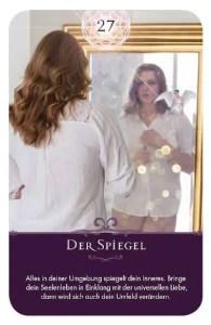 Gratis Kartenlegen Kraft der Engel Orakel Karte 27 Der Spiegel