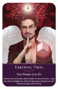 Gratis Kartenlegen Kraft der Engel Orakel Karte 4 Erzengel Uriel
