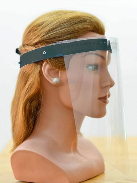 Beschermende gelaatscherm - anti corona