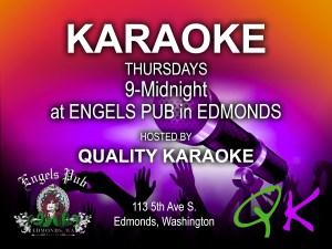 Karaoke at Engel's Pub with Quality Karaoke