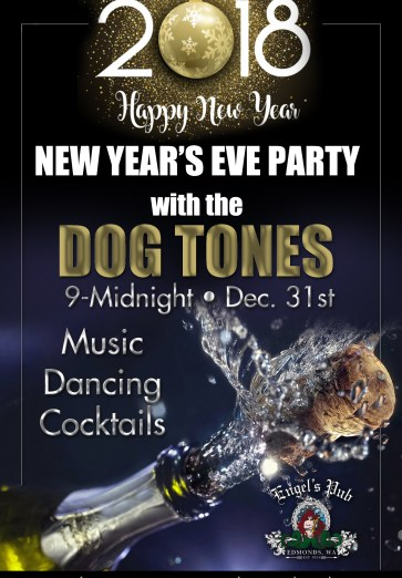 New Year's Eve at Engel's Pub in Edmonds