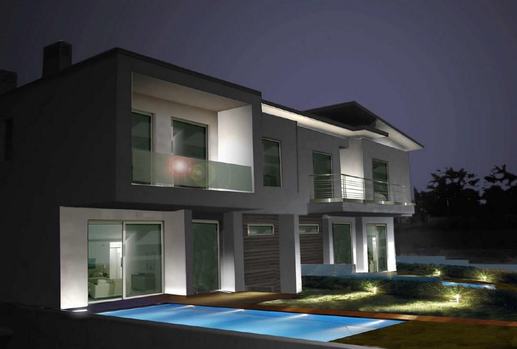 Moderna villa bifamiliare a Palazzolo Engel  Vlkers