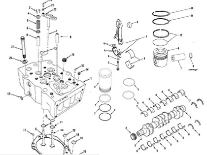 Cummins KTA19 Engine Parts