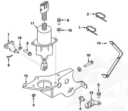 Fuel Shutoff Solenoid C3977620