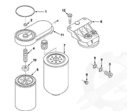 Fuel Filter C3931063