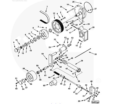 Fan Hub 3002183  Engine Parts
