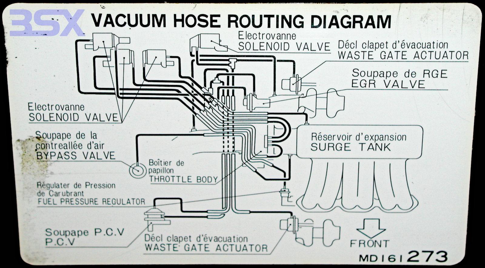 1998 Toyota Rav4 Engine Vacuum Diagram