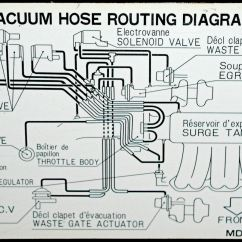 Subaru Vacuum Diagram 1990 Nissan 240sx Ignition Wiring Car Engine Line Basics Repair Leak Leaks Block