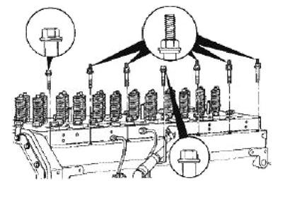 m11 engine diagram cummins repair service manual cummins