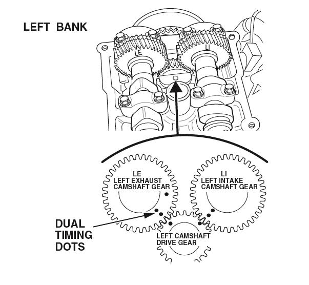 1998-2002 Honda 3.2L V6 Camshaft Subgear Preloading