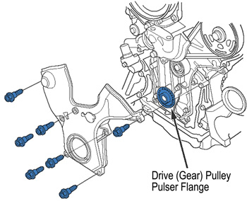 Service manual [Remove A Tensioner For A 2007 Honda