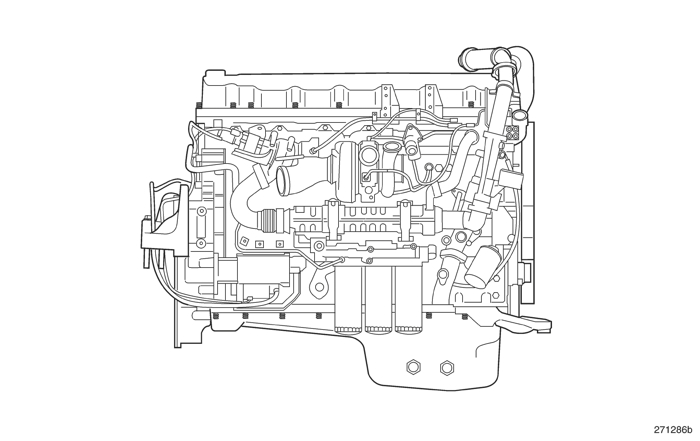 Mack Motor Diagram, Mack, Free Engine Image For User