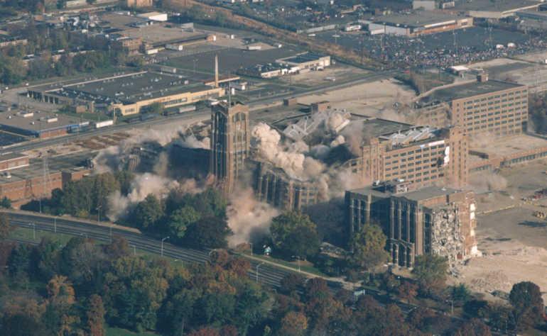 Project Portfolio  Explosive Demolition of the Sears