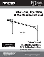 Free Standing Fall Protection Monorail