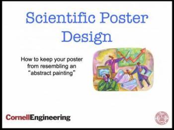 design the best scientific poster