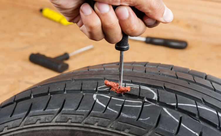 Tire Repair Process