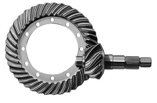 Hypoid gearboxes are a type of spiral bevel gearbox, with the difference that hypoid gears have axes that are non-intersecting and not parallel.