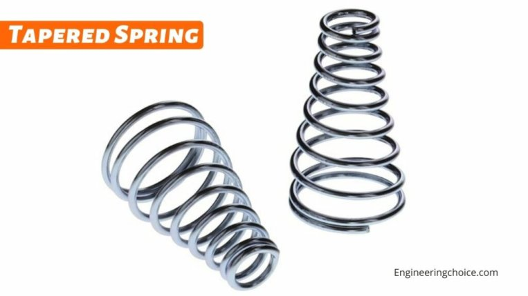 Tapered Spring
