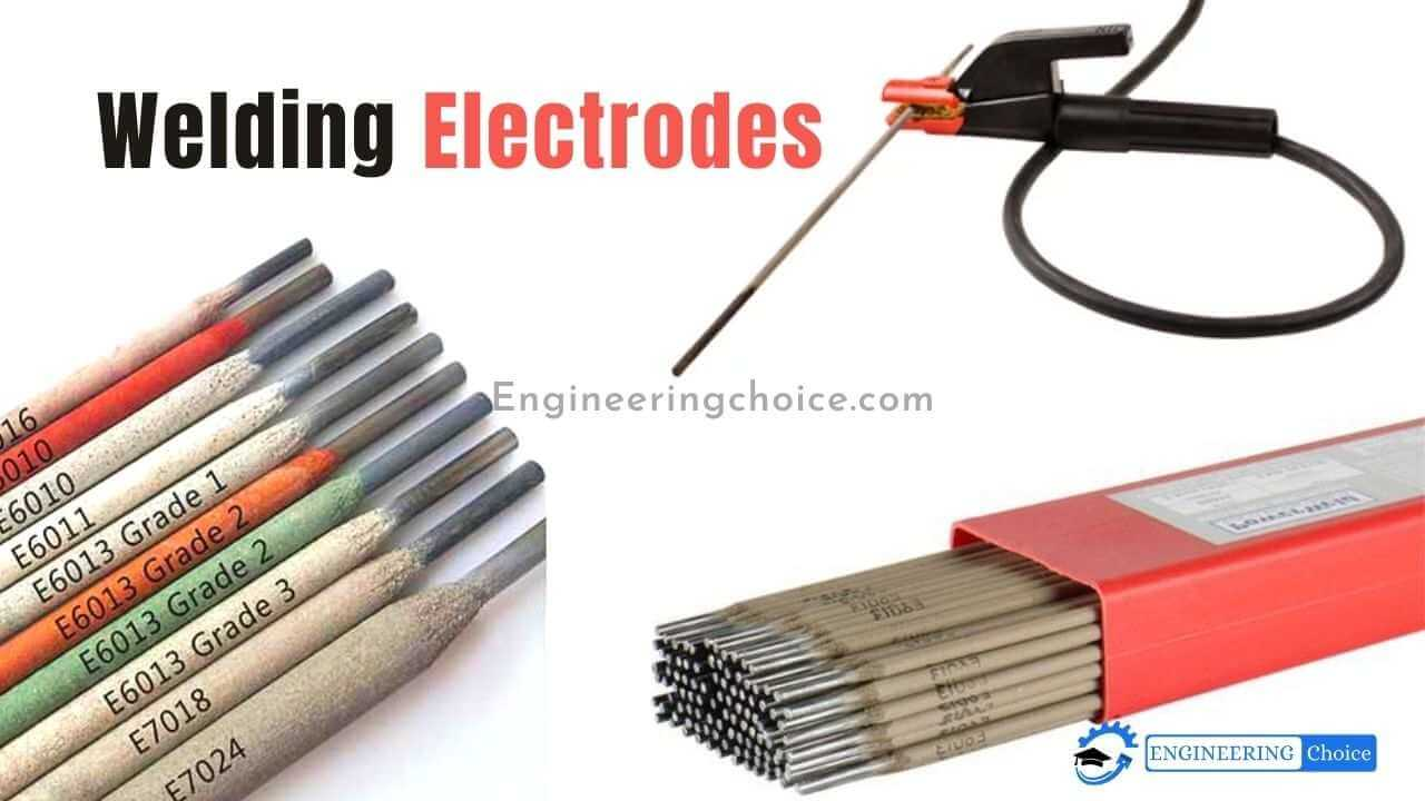 An electrode is a coated metal wire. It is made of materials similar to the metal being welded.
