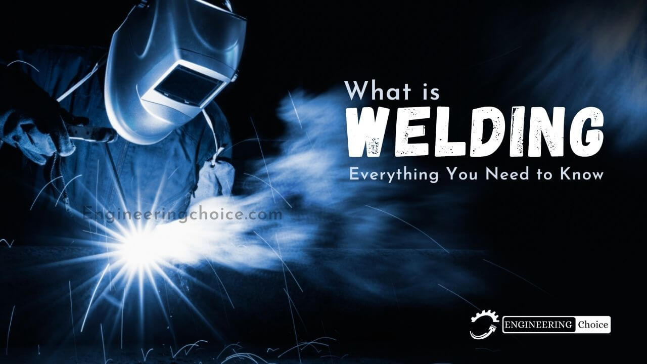 Welding is a fabrication process whereby two or more parts are fused together by means of heat, pressure, or both forming a join as the parts cool. Welding is usually used on metals and thermoplastics but can also be used on wood. The completed welded joint may be referred to as a weldment.