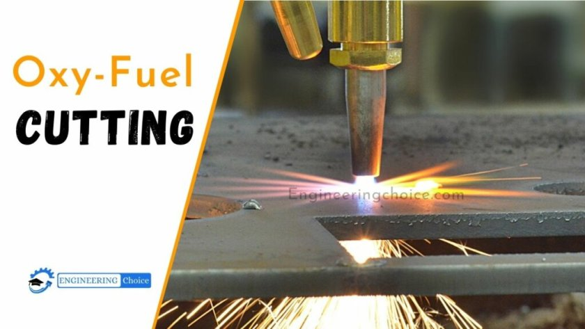 Oxy-fuel cutting is a thermal cutting process that uses oxygen and fuel gas (such as acetylene, propane, MAPP, propylene, and natural gas) to cut through materials.