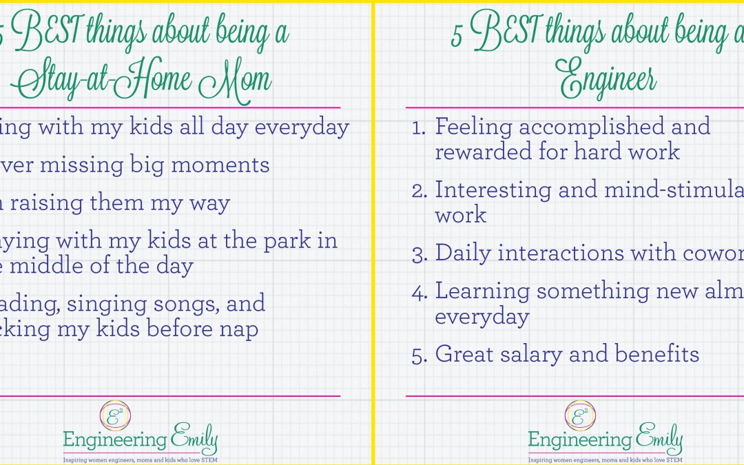 Stay-at-Home Mom vs. Engineer
