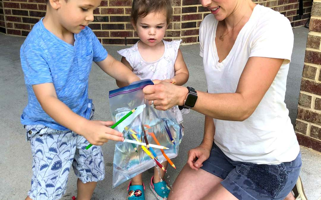 3 Simple Water Fun Experiments for Toddlers and Preschoolers