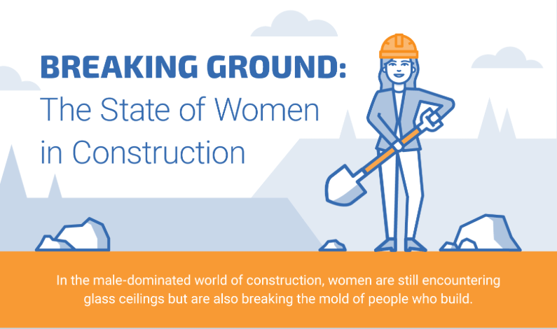 Infographic: Female Engineers in Construction