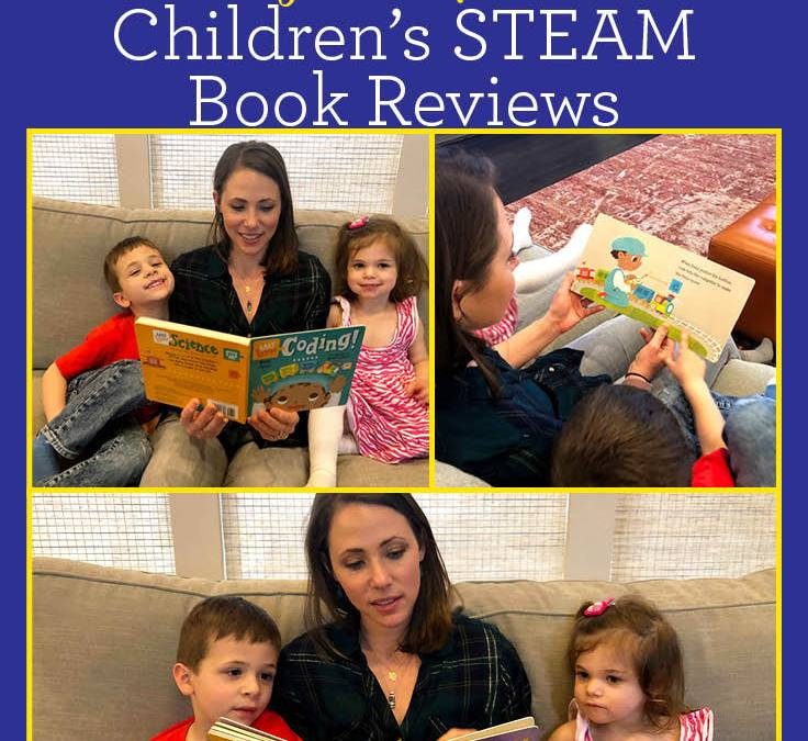 Baby Loves Aerospace Engineering and Baby Loves Coding by Ruth Spiro   Children's STEAM Book Review