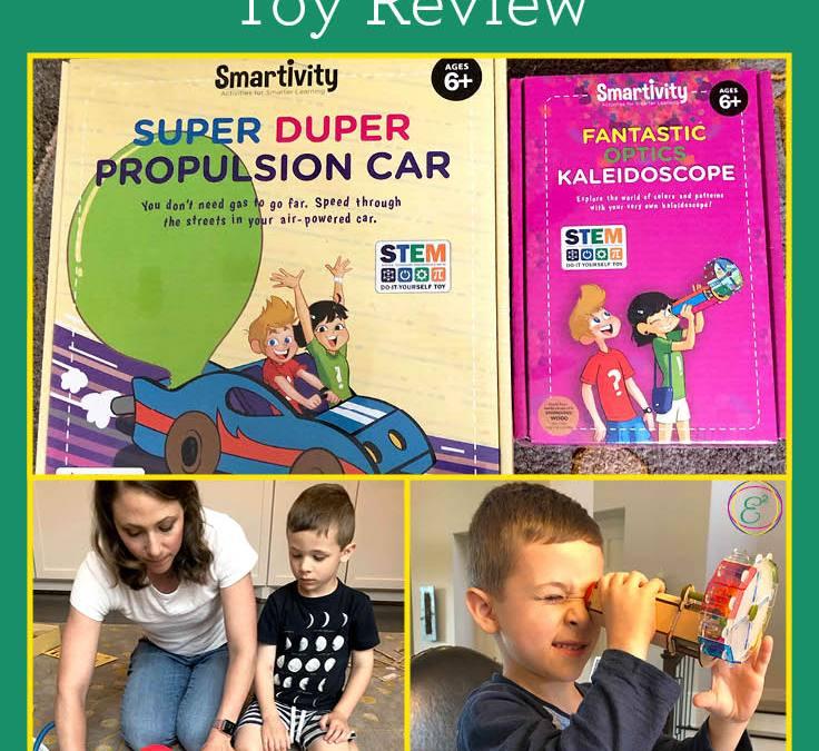 Smartivity Super Duper Propulsion Car and Fantastic Optics Kaleidoscope | Children's STEAM Toy Review