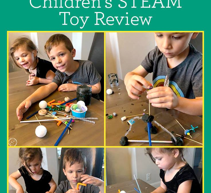 The Whole Kid and Kaboodle STEAM Kaboodle Kit | Children's STEAM Toy Review