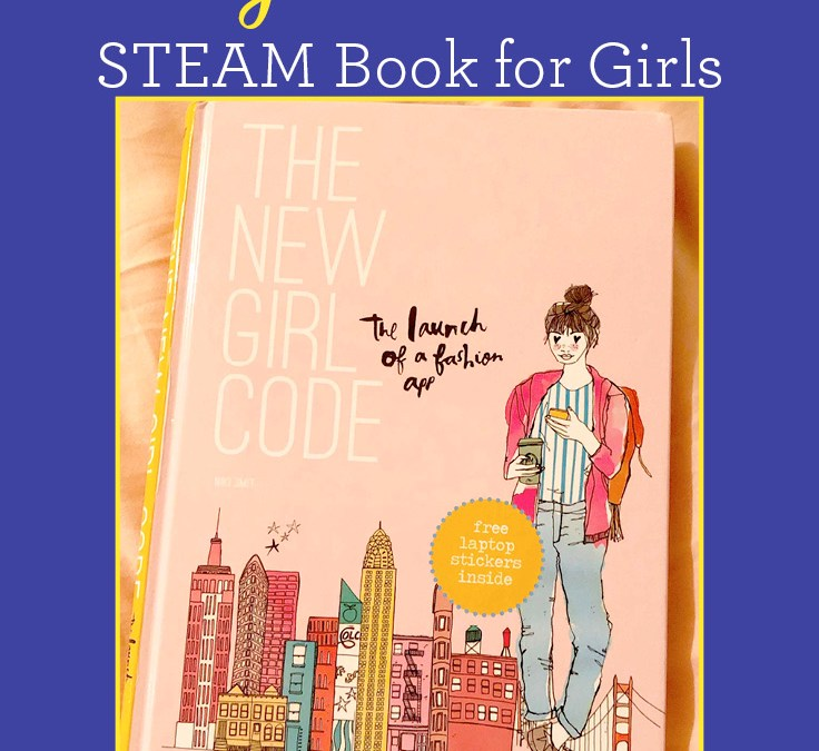 The New Girl Code by Niki Smit | STEAM Book for Girls
